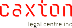 Home - Caxton Legal Centre Inc. Logo