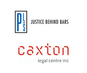 Caxton and Prisoners Legal Service logo